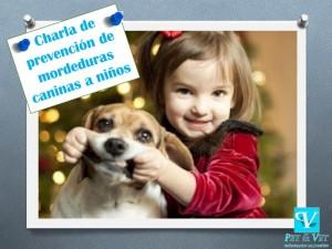 Prevención de mordeduras caninas a niños